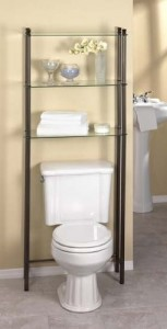 creativeware space saver toilet storage