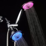 luminex air turbo led shower head