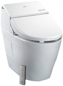 toto washlet touchless cleaning dual flush toilet