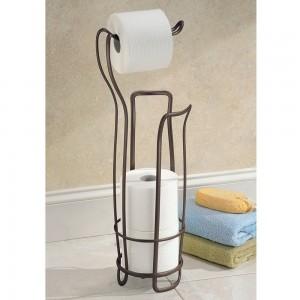 interdesign freestanding toilet paper holder